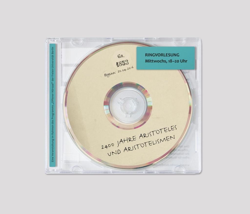 """Programm für die Ringvorlesung """"2400 Jahre Aristoteles und Aristotelismen"""", Freie Universität Berlin"""