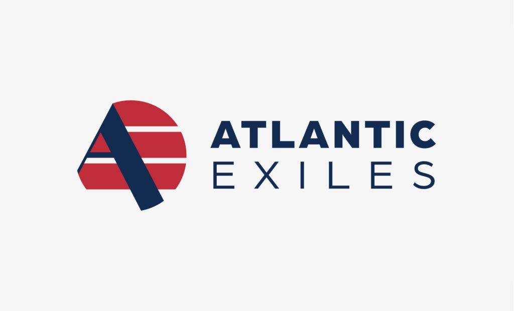 Abbildung des Logos des Forschungsbereichs Atlantic Exiles des Historischen Instituts der Universität Duisburg-Essen