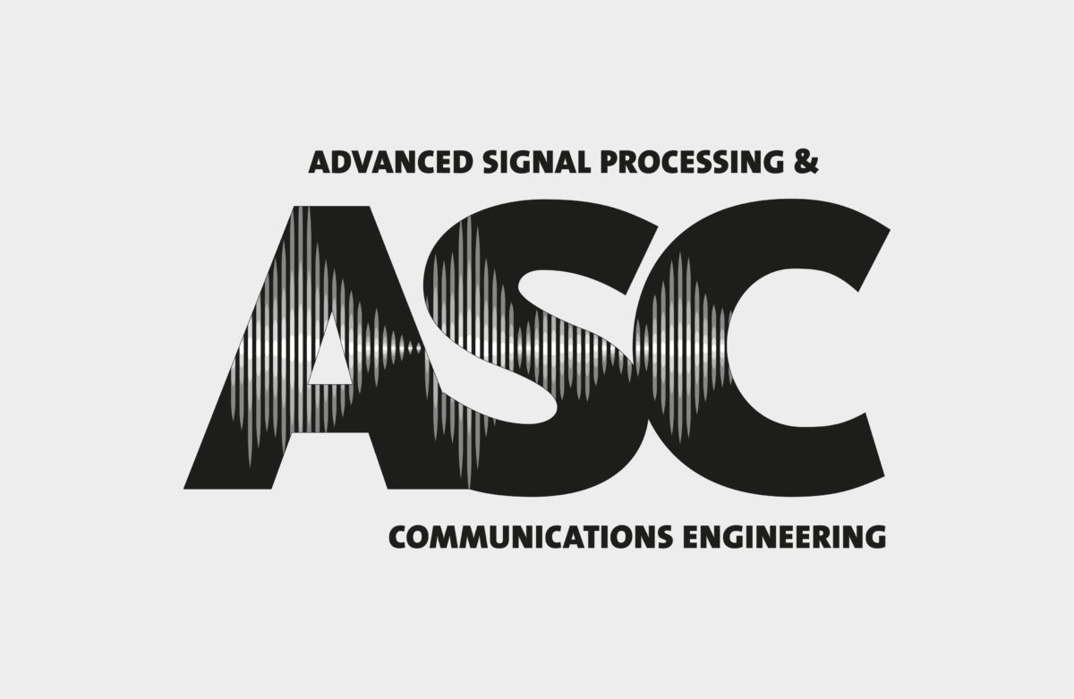 Logodesign für ASC-Advanced Processing and Communications Engineering, Friedrich Alexander Universität Erlangen