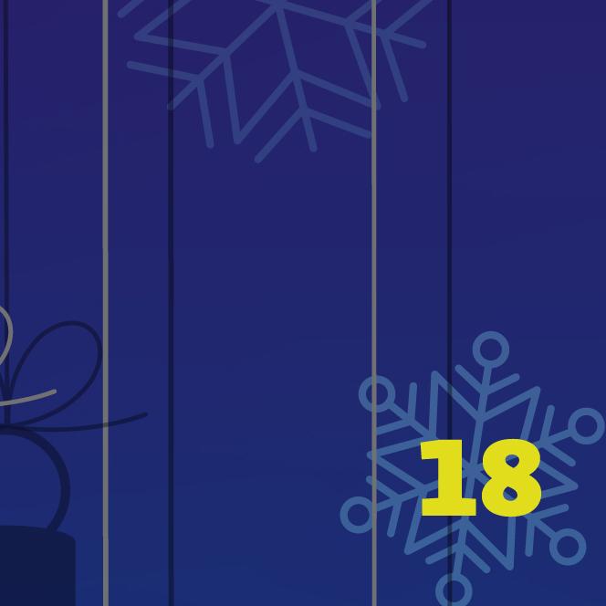 Digitaler Adventskalender des FB Philosophie und Geisteswissenschaften der FU Berlin, ein Türchen