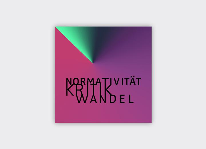 """Logo für das Graduiertenkolleg 2638 """"Normativität Kritk Wandel"""" an der Freien Universität Berlin"""