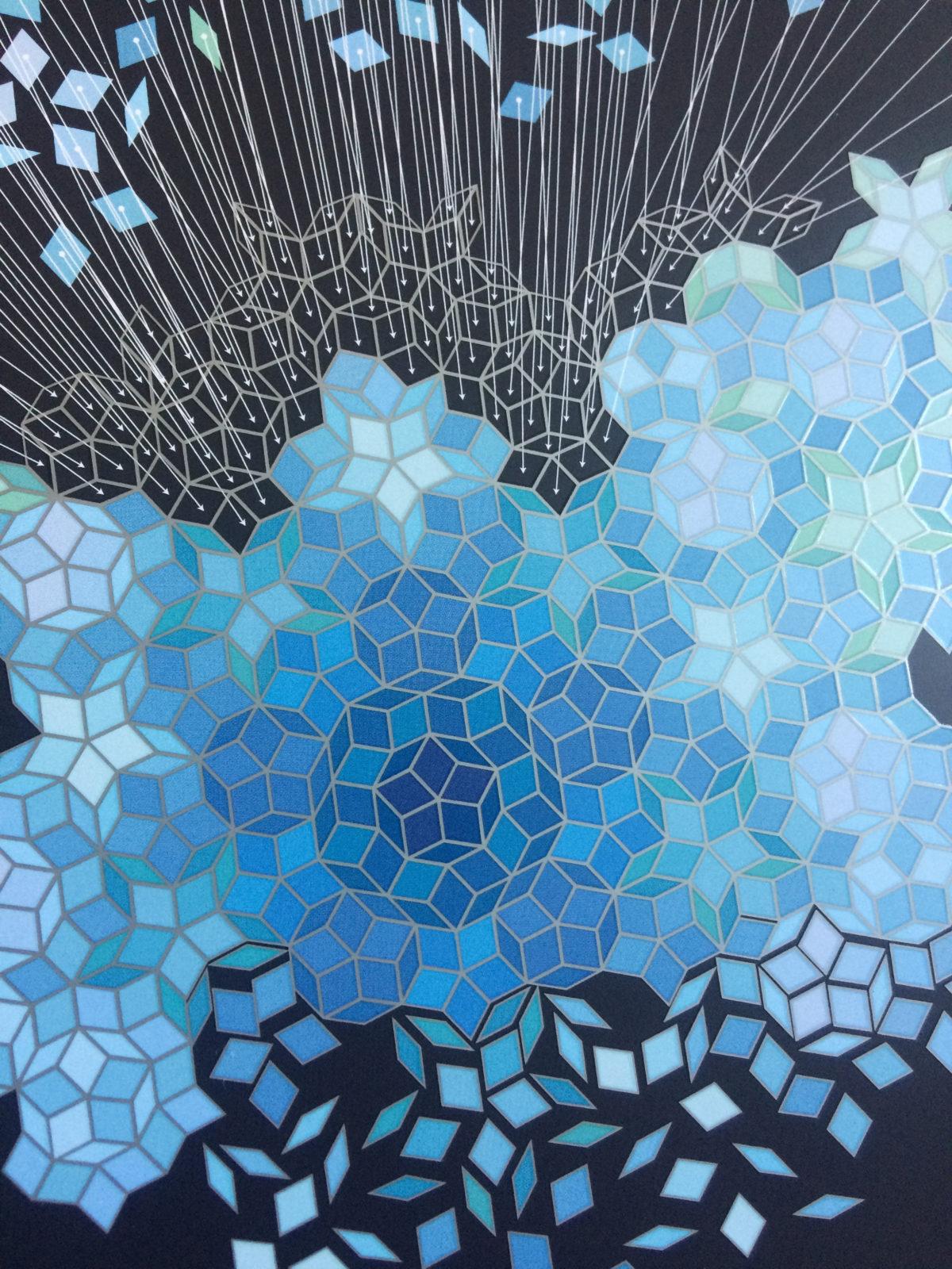 """Detail der Illustration für das Thematic Network """"Principles of Cultural Dynamics"""" der Freien Universität Berlin zur Jahrestagung 2018"""