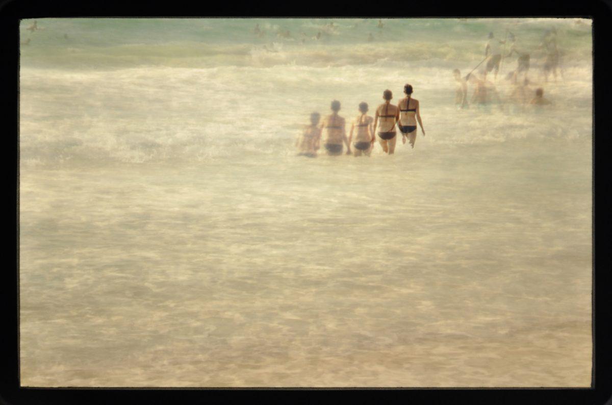Tempografie-Motiv: Jaffa Beach